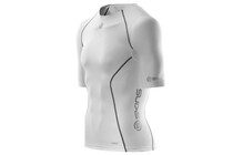 Skins A200 Men's Short Sleeve Compression Top white